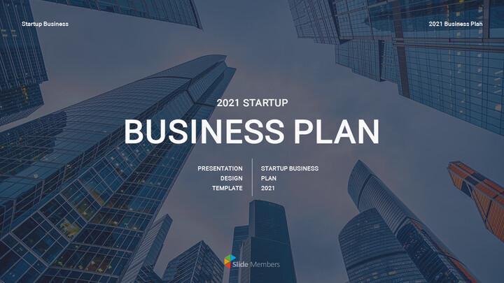 Startup Business Plan presentation slide_01