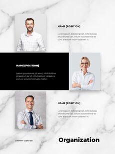 Marble Background Design Annual Report Google Presentation Templates_06