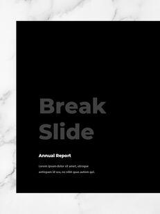 Marble Background Design Annual Report Google Presentation Templates_08