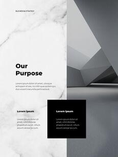 Marble Background Design Annual Report Google Presentation Templates_09