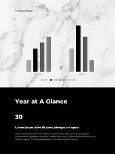 Marble Background Design Annual Report Google Presentation Templates_10