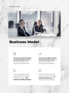 Marble Background Design Annual Report Google Presentation Templates_12