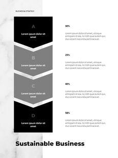 Marble Background Design Annual Report Google Presentation Templates_15