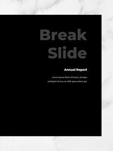 Marble Background Design Annual Report Google Presentation Templates_16