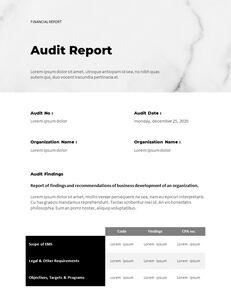 Marble Background Design Annual Report Google Presentation Templates_17