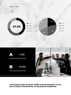 Marble Background Design Annual Report Google Presentation Templates_22