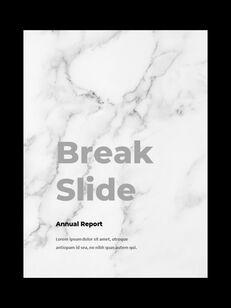 Marble Background Design Annual Report Google Presentation Templates_24