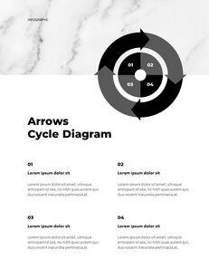 Marble Background Design Annual Report Google Presentation Templates_26