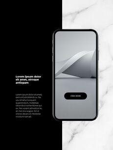 Marble Background Design Annual Report Google Presentation Templates_28