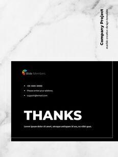 Marble Background Design Annual Report Google Presentation Templates_29