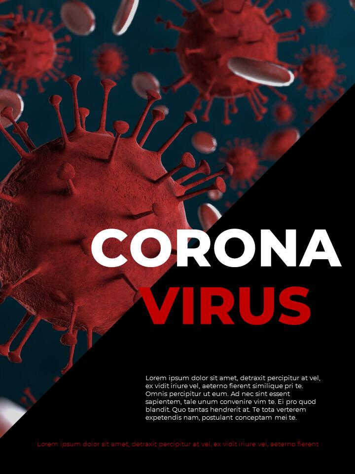 Virus Pandemic Poster Layout Template Google PowerPoint Presentation_02