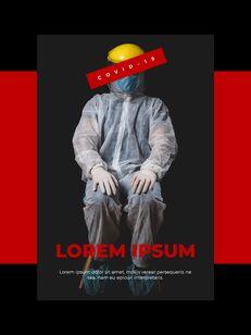Virus Pandemic Poster Layout Template Google PowerPoint Presentation_04