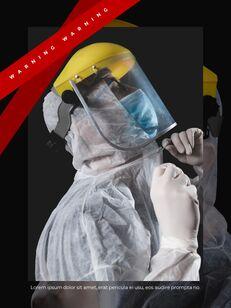 Virus Pandemic Poster Layout Template Google PowerPoint Presentation_20