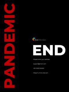 Virus Pandemic Poster Layout Template Google PowerPoint Presentation_29