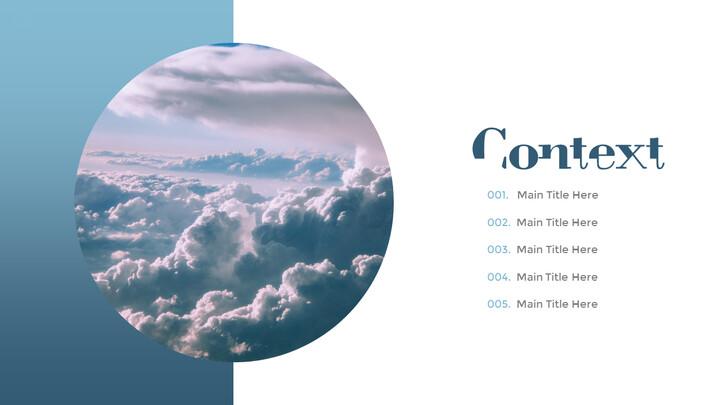 다양한 날씨 편집이 쉬운 프레젠테이션 템플릿_02