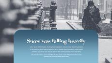 다양한 날씨 편집이 쉬운 프레젠테이션 템플릿_26