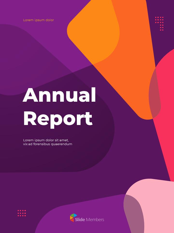 추상 배경 사업 보고서 파워포인트 프레젠테이션 예제_01
