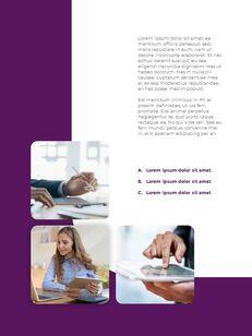 추상 배경 사업 보고서 파워포인트 프레젠테이션 예제_05