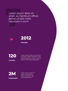 추상 배경 사업 보고서 파워포인트 프레젠테이션 예제_09