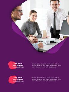 추상 배경 사업 보고서 파워포인트 프레젠테이션 예제_14