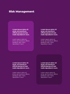 추상 배경 사업 보고서 파워포인트 프레젠테이션 예제_20