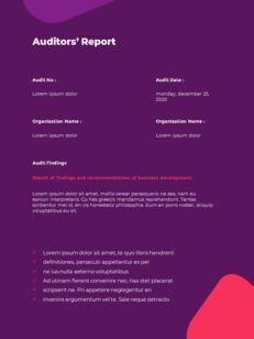 추상 배경 사업 보고서 파워포인트 프레젠테이션 예제_24