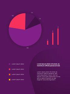 추상 배경 사업 보고서 파워포인트 프레젠테이션 예제_28