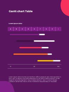 추상 배경 사업 보고서 파워포인트 프레젠테이션 예제_31