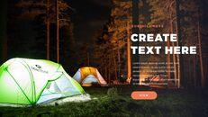 캠핑 창의적인 파워포인트 프레젠테이션_14