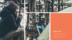 캠핑 창의적인 파워포인트 프레젠테이션_25