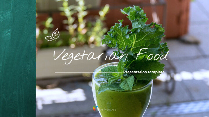 Vegetarian Food Google Slides Themes for Presentations_01