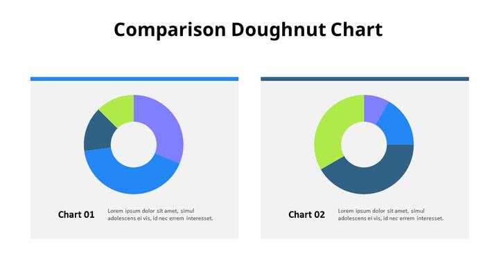 두 개의 간단한 도넛 형 차트_01