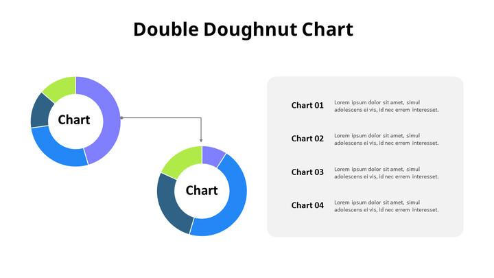 두 개의 간단한 도넛 형 차트_02