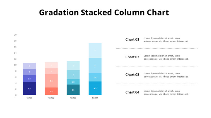 Stacked Column Chart_01