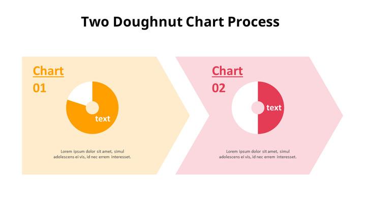 아이콘이있는 두 개의 도넛 형 차트_02