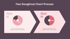아이콘이있는 두 개의 도넛 형 차트_10