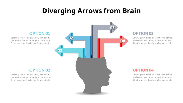 Diverging Arrows List Diagram_01