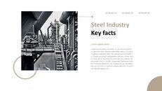 철강 산업에 대해 비즈니스 전략 파워포인트_03
