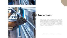 철강 산업에 대해 비즈니스 전략 파워포인트_04