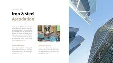 철강 산업에 대해 비즈니스 전략 파워포인트_05