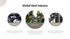 철강 산업에 대해 비즈니스 전략 파워포인트_09