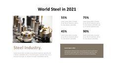 철강 산업에 대해 비즈니스 전략 파워포인트_13