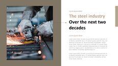 철강 산업에 대해 비즈니스 전략 파워포인트_16