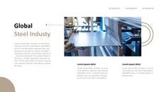 철강 산업에 대해 비즈니스 전략 파워포인트_17