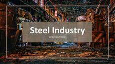 철강 산업에 대해 비즈니스 전략 파워포인트_18