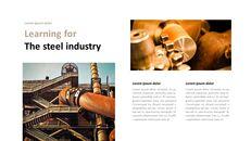 철강 산업에 대해 비즈니스 전략 파워포인트_21