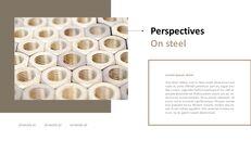 철강 산업에 대해 비즈니스 전략 파워포인트_24