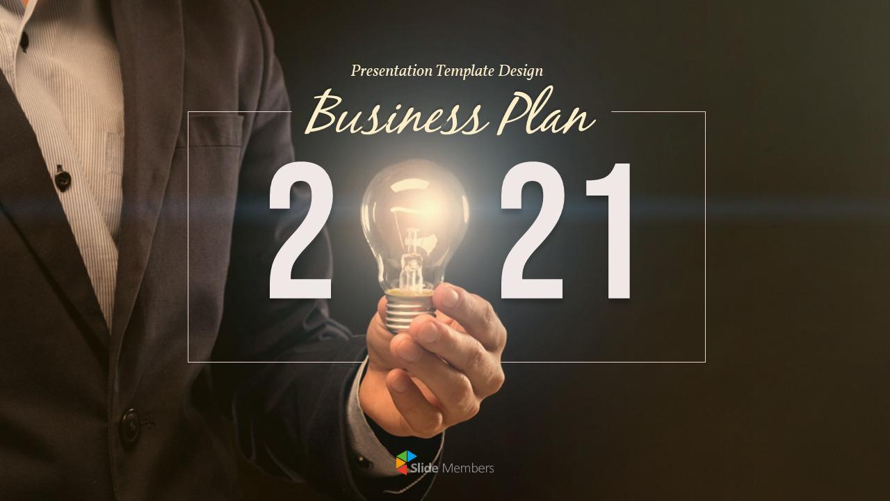 2021 Business Plan Templates Design