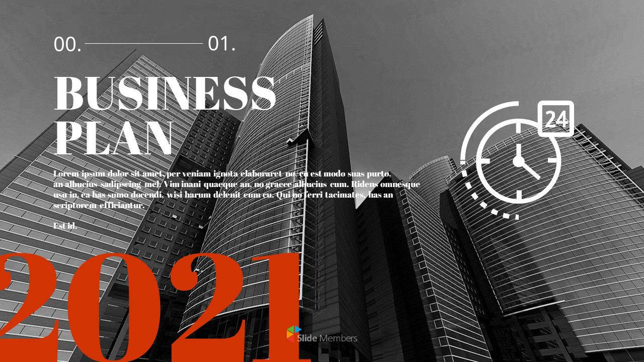 Business Plan 2021 Marketing Presentation Ppt