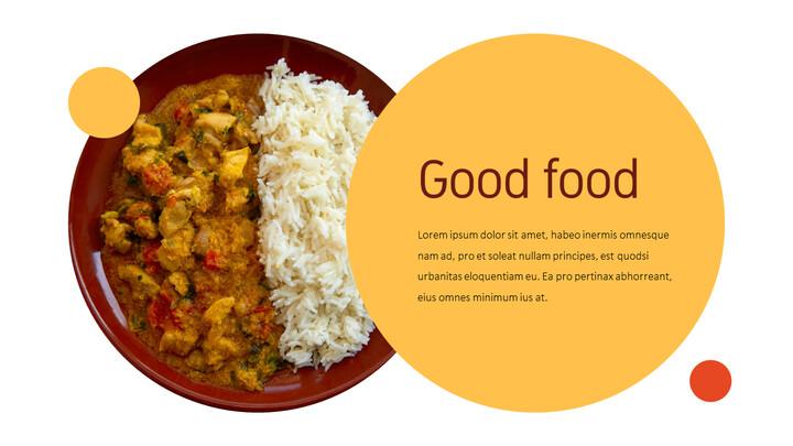 인도 요리 카레 (커리) 파워포인트 디자인_02
